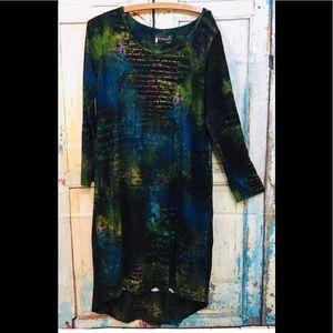 Anthropologie Boheme Stretch Ophilia Dress Sz 2